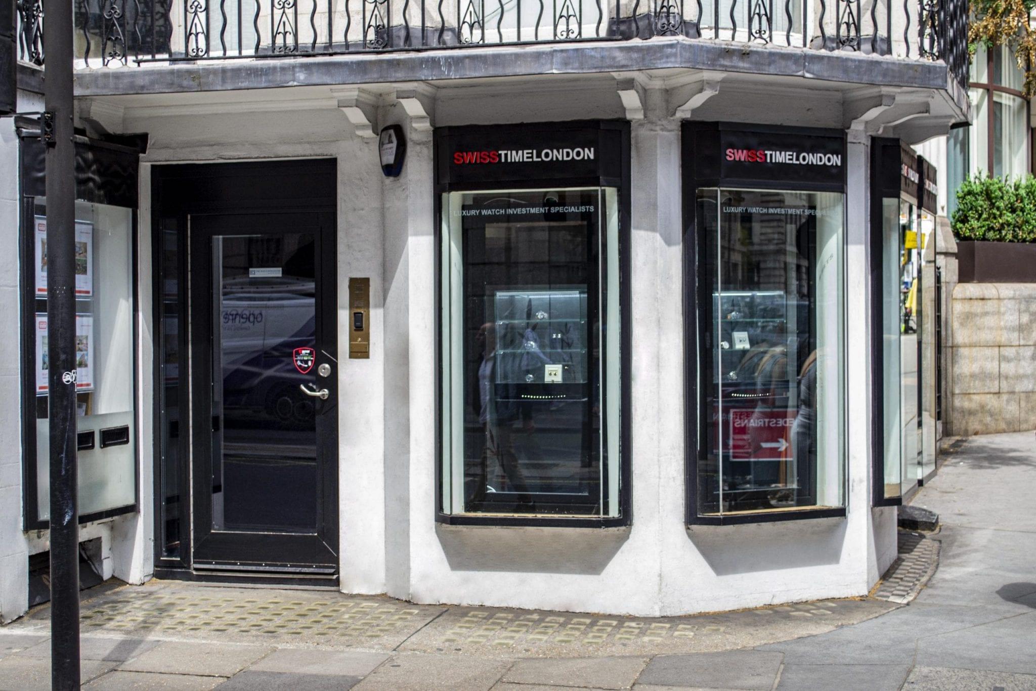 Warrior Fully Glazed High Security Swing Door & Shopfront