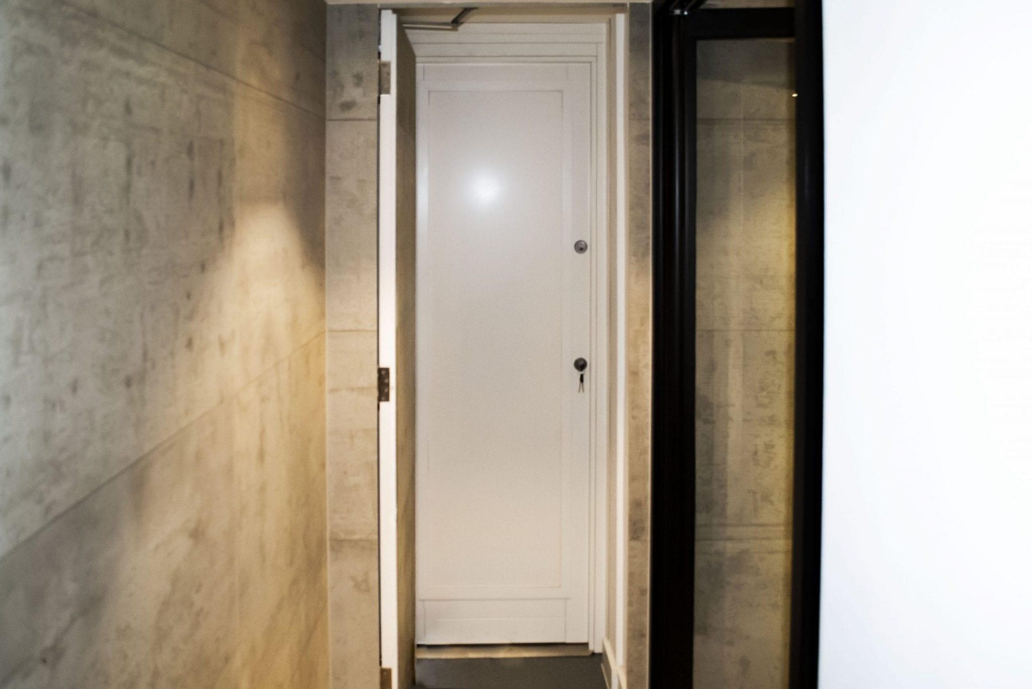 Warrior Full Stainless Steel Safe Room Door