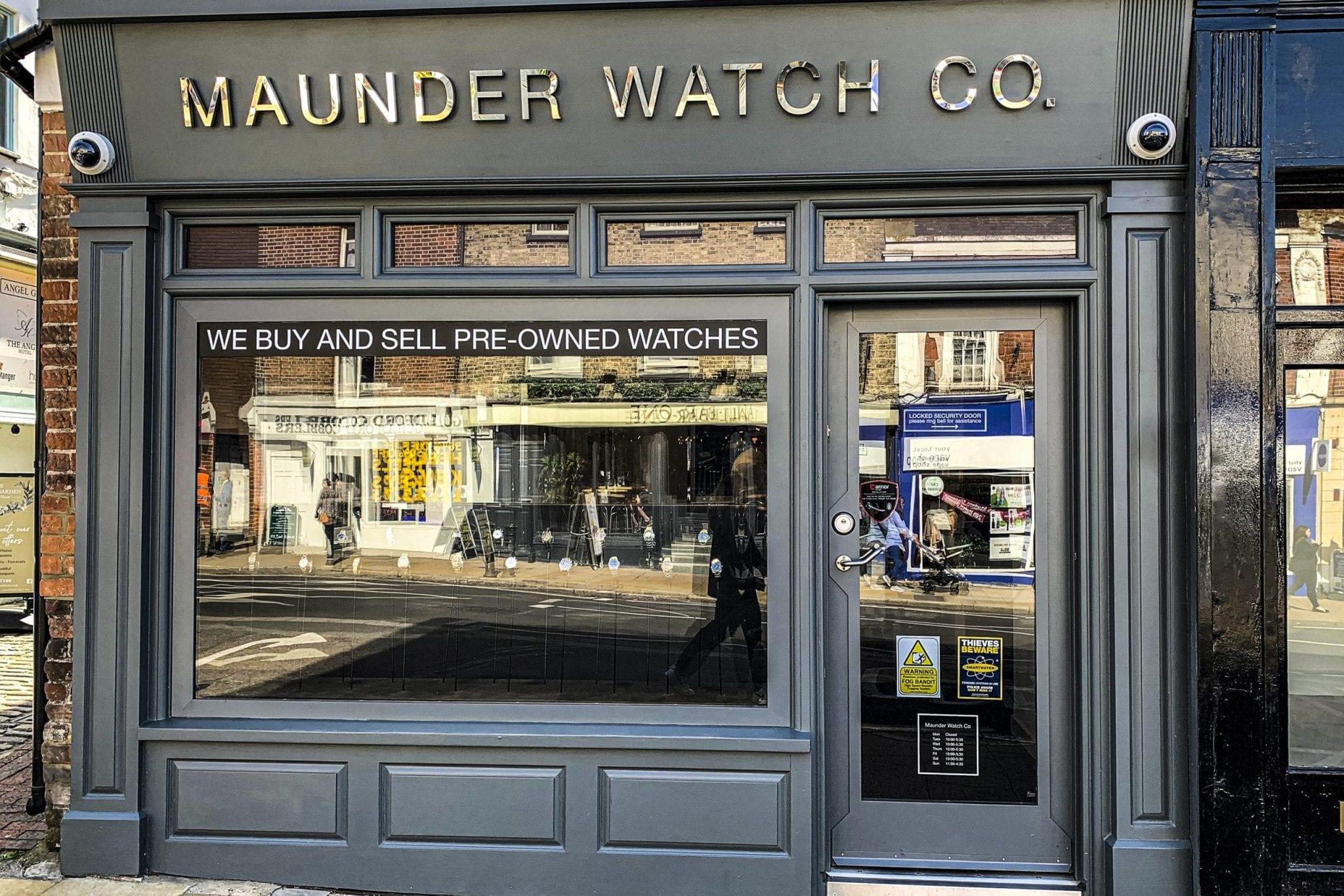 Warrior Doors Shopfront & High Security Swing Door