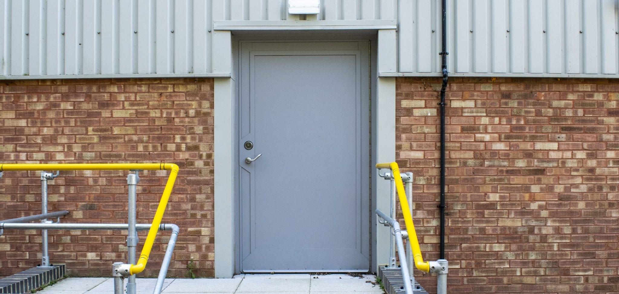 Stainless Steel Plant Room Door