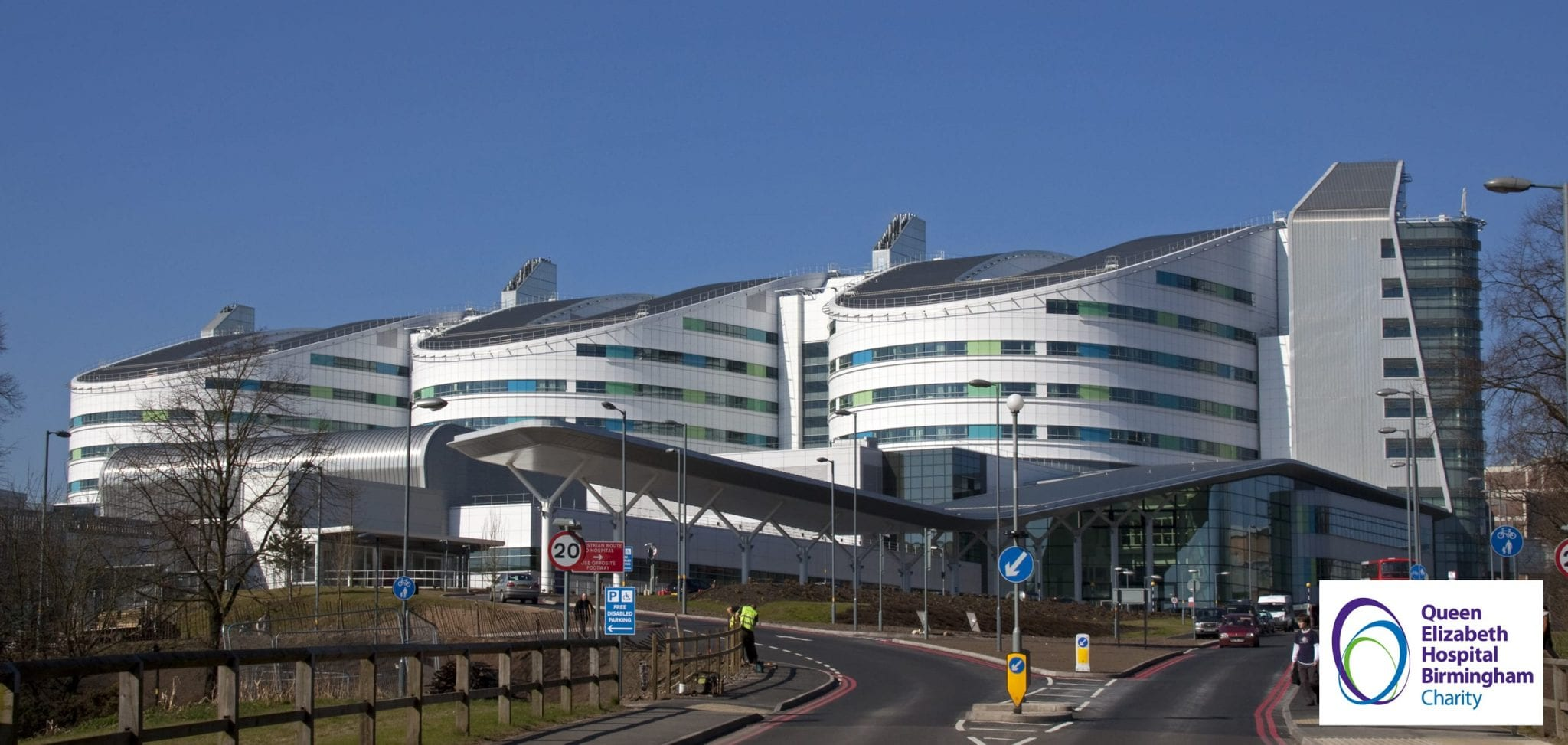 Queen Elizabeth Hospital Birmingham Building