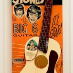 Signed Small Plastic Guitar